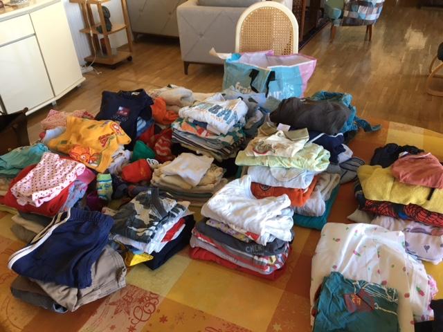 2018-08 Vêtements de bébé pour Ankara