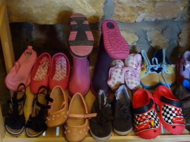 Des chaussures!!