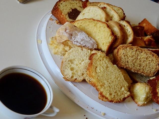 Café, thé et petits gâteaux!!