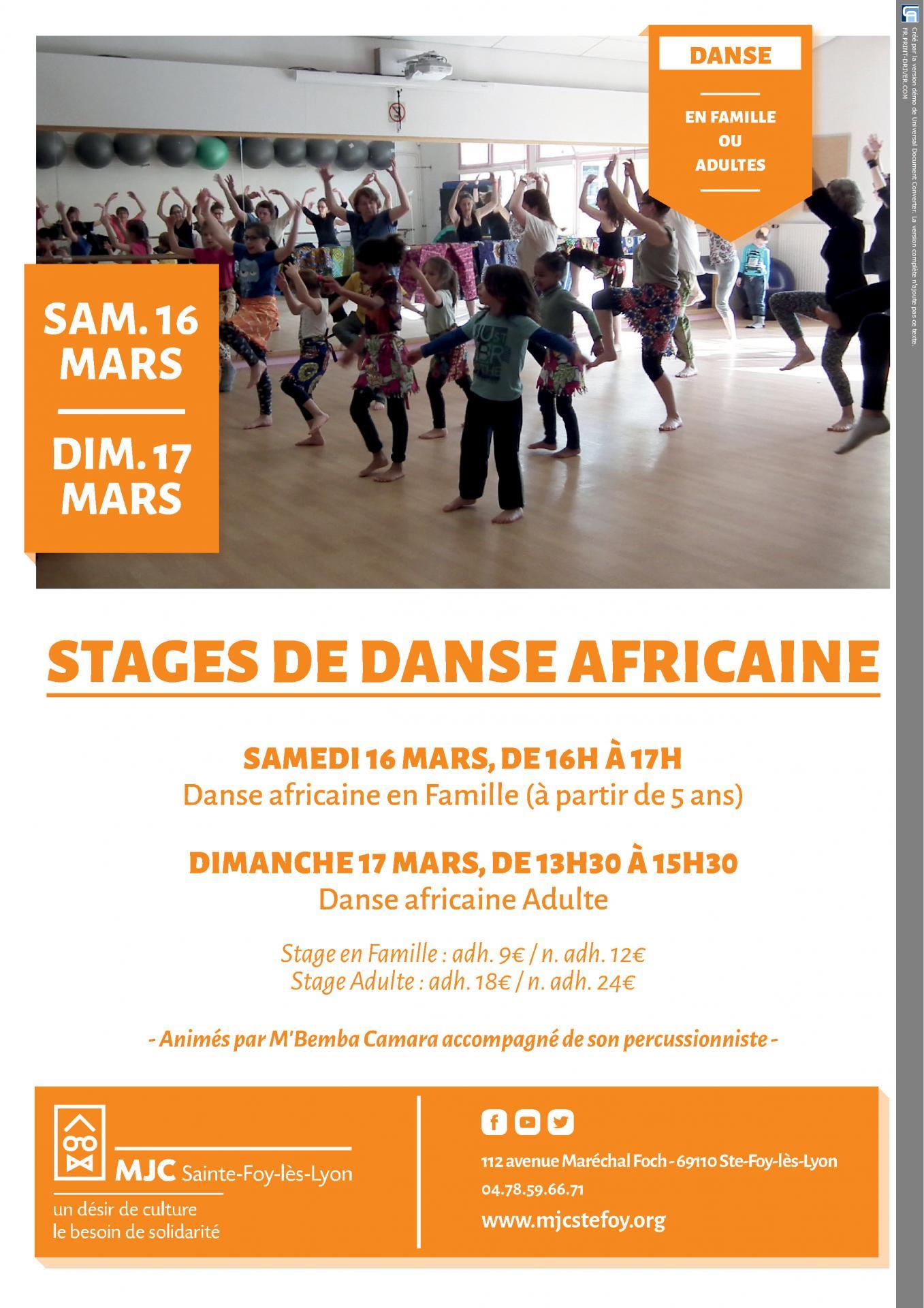 2019-16 17 mars stage de danse africaine